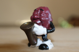 "Rare CALIFORNIA RAISINS 2"" Figurine with Saxophone - $25.00"