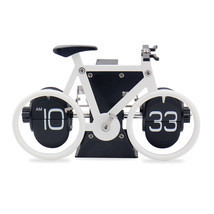 Novelty Bicycle Bike Flip Clock Time Adjustment... - $39.90