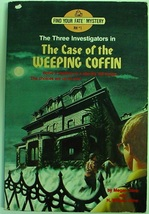 Three Investigators The Case of the Weeping Coffin FYF RH#1 no bar code ... - $11.00