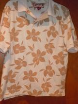 Caribbean Joe Men's Cotton Shirt Size Small - $5.99