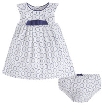 Mayoral Baby Girls Polka Dot Circle Print Dress