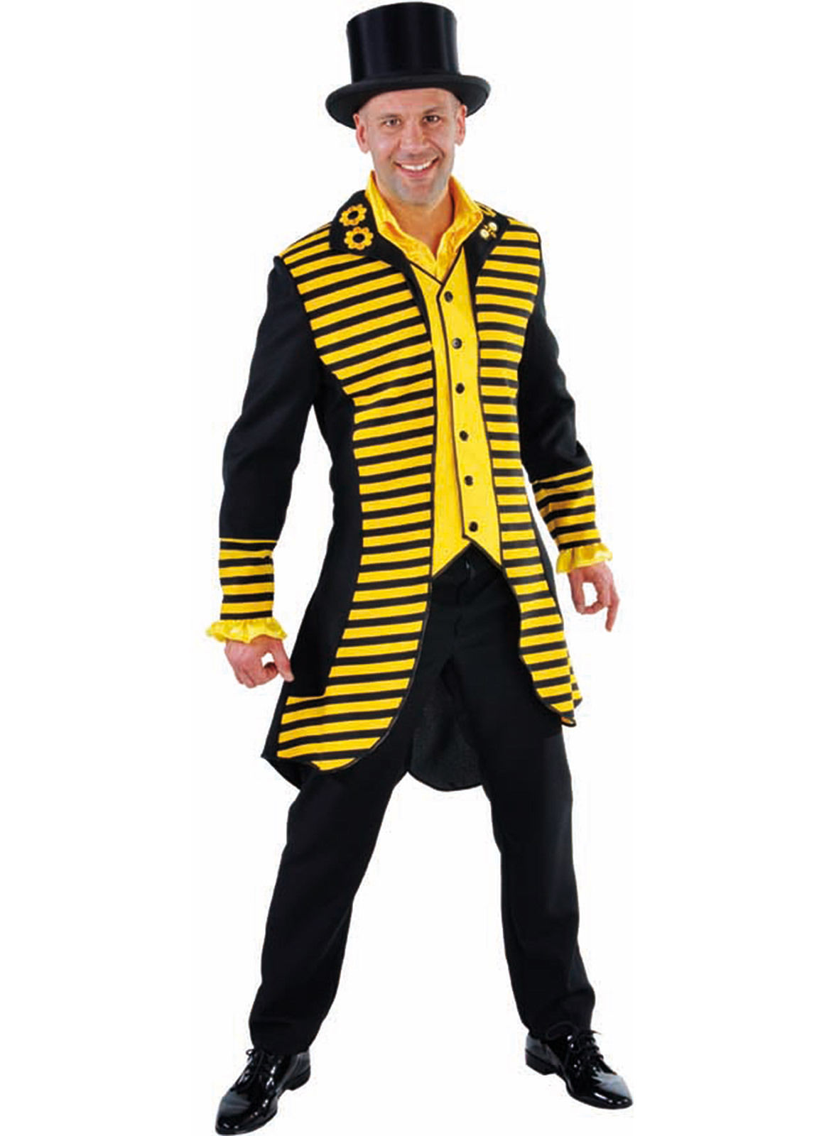 Mr Bee / Wasp - Black / Yellow Jacket
