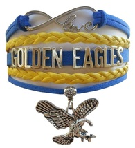 University of Marquette Golden Eagles Fan Shop Infinity Bracelet Jewelry - $12.99