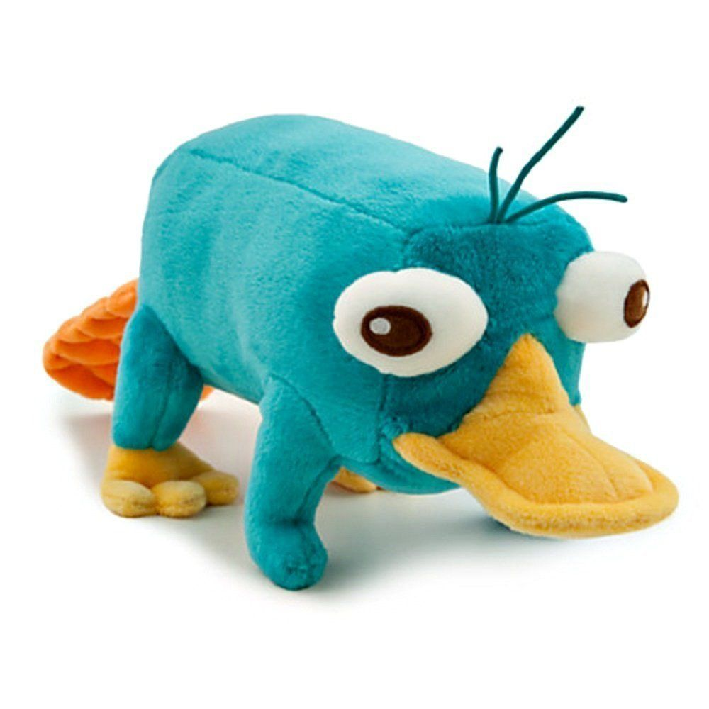 Primary image for Disney Phineas and Ferb - Plush Mini Bean Bag Toy - 10in PERRY by Disney