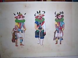 Leroy Kewanyama Hopi Native American Original G... - $525.00
