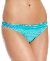 NEW HOBIE AZL Azul Crochet Tab Sides Swimwear Bikini Bottom L Large - $5.44