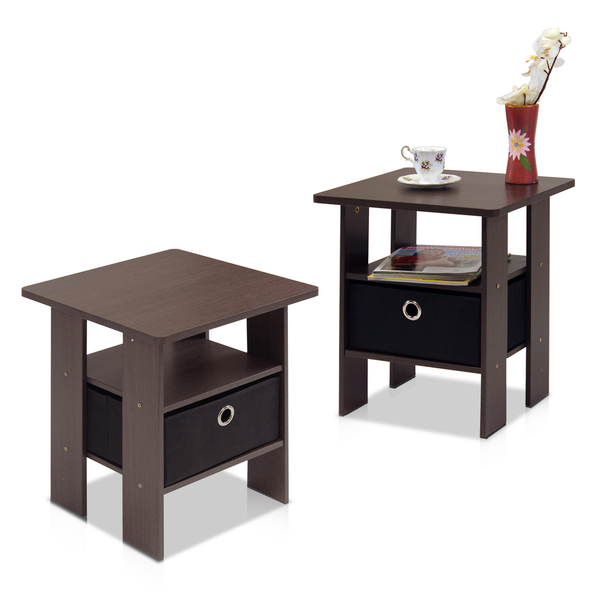 Bedroom Side Tables : bedroom_nightstand_tables_brown_end_tables_wood_side_tables_square ...