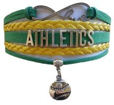 Oakland Athletics Baseball Fan Shop Infinity Bracelet Jewelry - $11.99