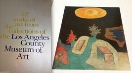 12 Works of Art LACMA 1978  Los Angeles Museum PRINTS Renoir, Paul Klee, Homer - $96.00