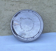 Vintage Ford Motor Company Dog Dish Hubcaps 1 Cap Only - 10'' 1/2 Round 1970's - $14.95