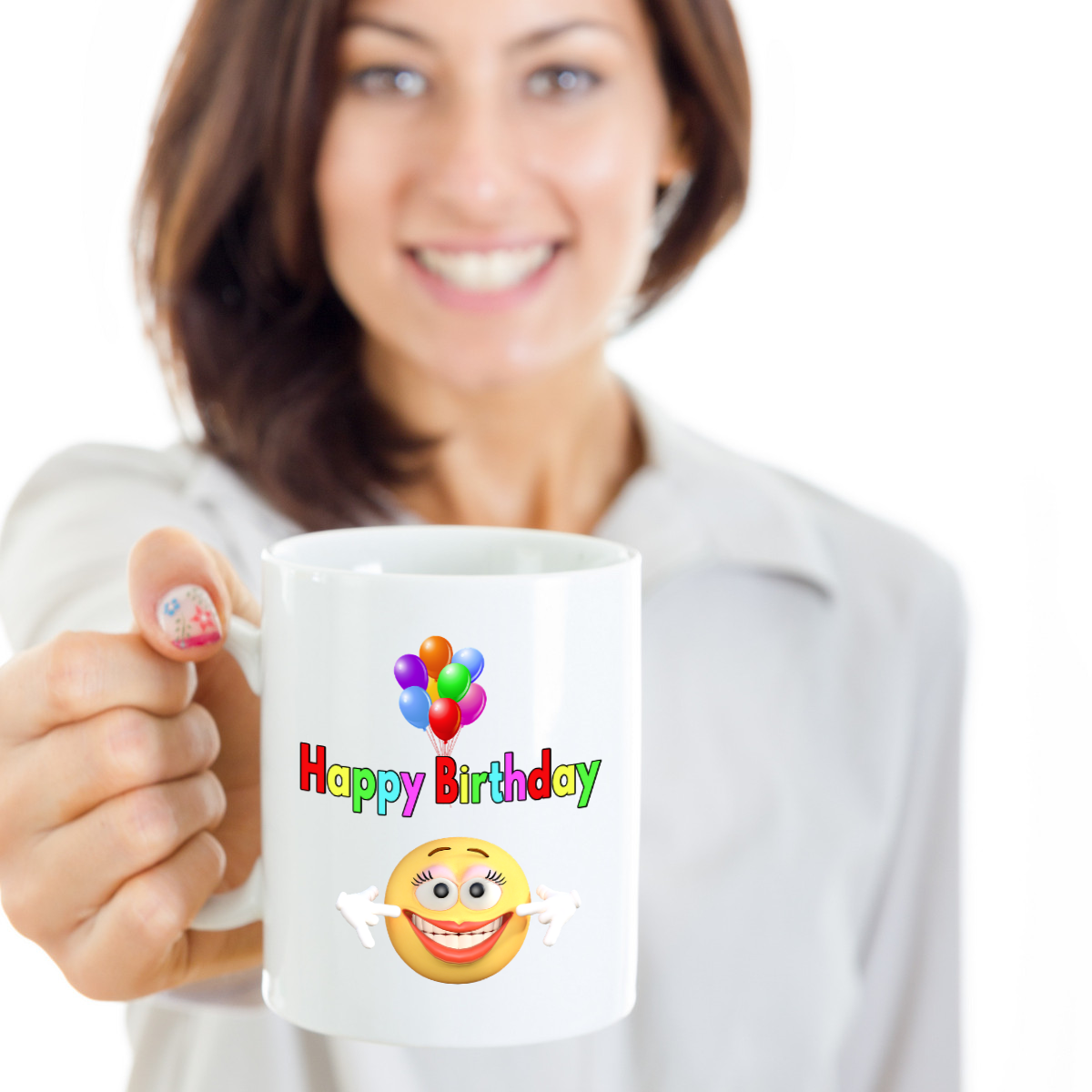 Birthday Funny Gift For Mom Mother Her Women Friend Girlfriend Customized Mug