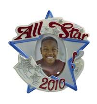 All-Star Kid - 2010 Hallmark Photo Holder Ornament - Sports Stars Red Blue - $4.93