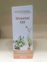 Baba Ramdev Patanjali Sheetal Hair Oil 100ml Fr... - $6.83