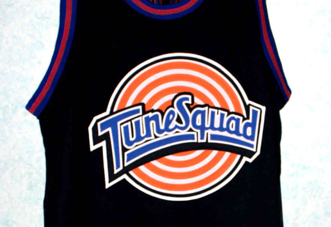190f33bee5a S l1600. S l1600. Previous. MICHAEL JORDAN #23 TUNE SQUAD - SPACE JAM MOVIE  JERSEY BLACK NEW SEWN ANY SIZE