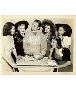Hal ROACH John HUBBARD Bevy BEAUTIES ORG SCHAFER PHOTO - $19.99