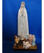 Lady of Fatima Portugal Sculptural Rendering by A. Lucchesi   - $30.00