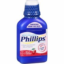 Phillips' Genuine Milk of Magnesia Wild Cherry ... - $11.20