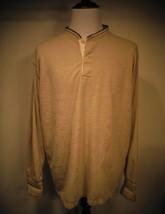 Ralph Lauren Polo Sport Sportsman Mens Men's 2 Button Beige Pullover Siz... - $37.39