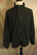 LL Bean Men's Extra Large XL Gray Long Sleeve Full Zipper Front Fleece J... - $22.44
