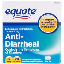 Equate Anti-Diarrheal Relief, 24ct - $4.67