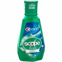 Crest Scope Classic Original Mint Mouthwash, 33.8 fl oz - $7.24