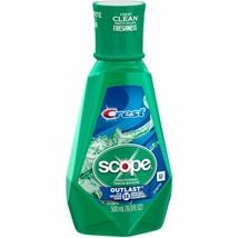 Crest Scope Outlast Long Lasting Mint Mouthwash, 16.9 fl oz - $4.67