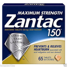 Zantac 150Mg Maximum Strength Acid Reducer, 65 ct - $23.83