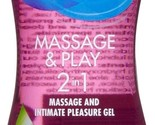 Durex Massage and Play 2-in-1 Massage Gel & Lubricant, Soothing Touch, 6.76oz