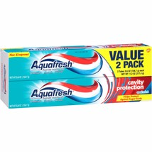 Aquafresh Cavity Protection Cool Mint Fluoride Toothpaste, 5.6 oz, (Pack... - $5.89