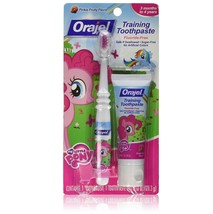 Orajel My Little Pony Toddler Training Toothpaste and Toothbrush - $7.24