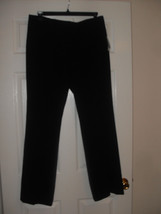 Nine West New Womens Black Stretch Pants    12 - $23.75
