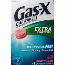 Gas-X Chewable Tablets Extra Strength, 125mg, C... - $11.97
