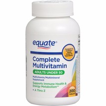 Equate Complete Multivitamin Dietary Supplement, 200ct - $11.20