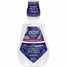 Crest 3D White Glamorous White Fresh Mint Flavor Mouthwash, 48 fl oz - $15.88