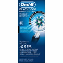 Oral-B 1000 CrossAction Powered by Braun Rechargeable Toothbrush - Black - $79.46