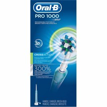 Oral-B 1000 CrossAction Powered by Braun Rechargeable Toothbrush - White - $79.46
