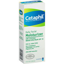 Cetaphil For All Skin Types Daily Facial Moisturizer, 4 fl oz - $17.47