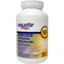 Equate Multivitamin A Thru Z Adults 50+ Tablets... - $13.51