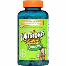 Flintstones Complete Sour Gummies Children's Multivitamin Supplement, 18... - $19.86
