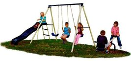 Play Grounds Swing Set Swingset Play Equipment Play System Flexible Flyer  - $299.97