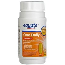 Equate One Daily Women's Multivitamin Multimine... - $5.85