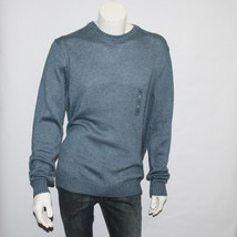 Men's Croft & Barrow Gray Blue Crewneck Sweater Size XL New with Tags - $24.75
