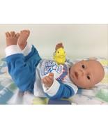 "Baby Doll Newborn Anatomically Correct Boy Vintage 17"" Vinyl Jointed w P... - $98.95"