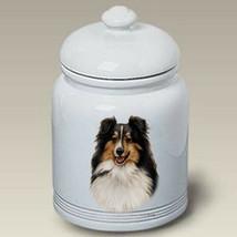 Sheltie Tri Treat Jar - $44.95