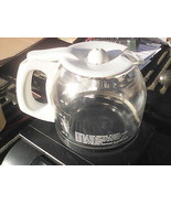 6RR74 MR. COFFEE POT, 12 CUP, WHITE ACCENT, GOOD CONDITION - $19.66