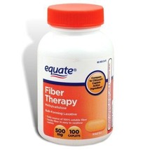 Equate Laxative Fiber Therapy Caplets, 100 ct - $10.44