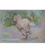 Custom horse portrait, Pastel drawing, Equestrian Art from photos, Horse... - $168.00