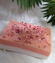 peppermint soap, glycerin soap, bath and beauty, bath and body, glycerin... - $5.50