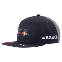 Men's Puma Aston Martin Red Bull Racing Adjustable Flat-brim Snapback Hat 021530