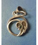 Vintage Retro USSR Soviet Jewelry Silver 875 Pendant Leaf marked - $30.00